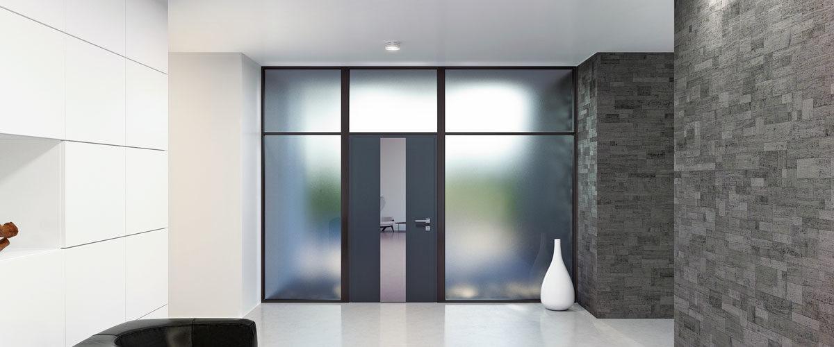 Portes PVC moderne
