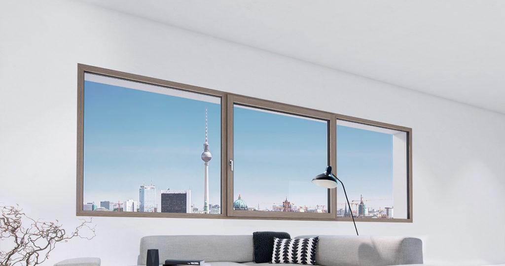 Fenêtre BOIS (bois/alu) triple vitrage