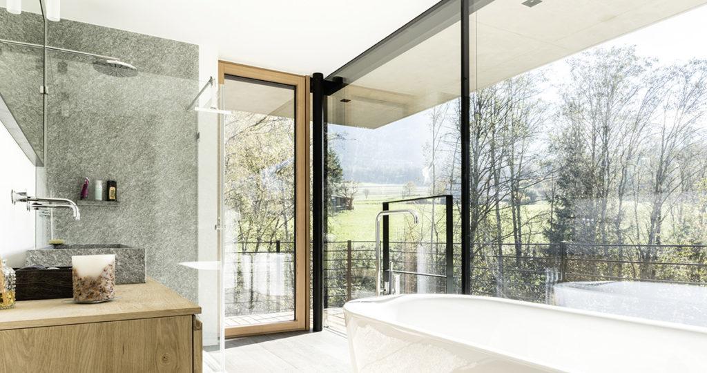 Portes-fenêtres BOIS à la française