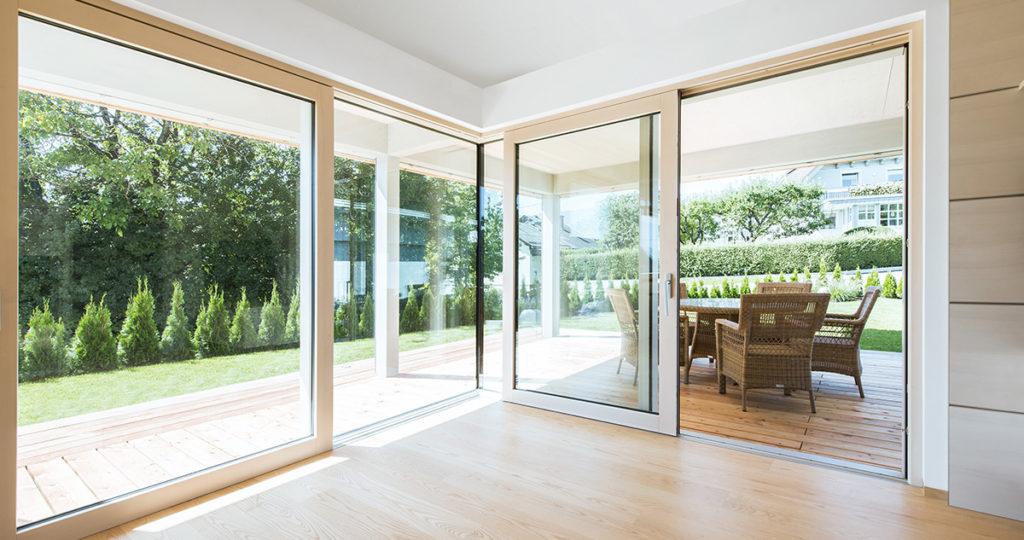 Portes-fenêtres BOIS à translation